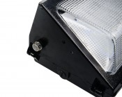 60W High Power LED Wall Pack with Photoelectric Sensor: Close Up View OF Photoelectric Sensor