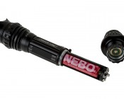 6189 REDLINE Select RC™ Rechargeable Tactical Flashlight with USB Powerbank: Showing 18650 Battery