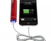 6227 PAL Powerbank and Flashlight: Plug Any USB Charging Cord Into Back To Access Power Bank - Blue Light Will Illuminate