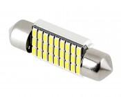 6418 LED CAN Bus Bulb - 27 SMD LED Festoon - 36mm