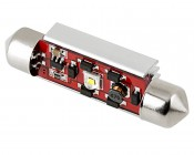 6451 LED CAN Bus Bulb - 1 SMD LED Festoon - 42mm