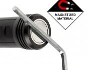 LED Flashlight/Work Light - NEBO SLYDE+ - 300 Lumens: Base is Magnetic