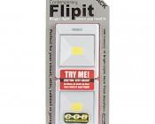 NEBO Contemporary FlipIt LED Light Switch - 2-Pack - 240 Lumens