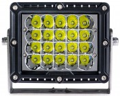 "6.5"" Rectangular 100W Super Duty High Powered LED Work Light: Front View Of LED Work Light"
