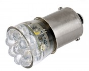67 LED Bulb - 15 LED Forward Firing Cluster - BA15S Retrofit