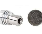67 LED Bulb w/ Focusing Lens - 3 High Power LED - BA15S Retrofit: Back View