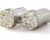 67 LED Bulb - 9 LED Forward Firing Cluster - BA15S Retrofit