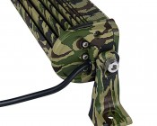 "6"" Camo Off Road LED Light Bar with Spot/Flood Combo - 36W: Side View"