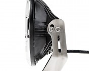"""7"""" Round 36W Driving Light Insert with Bracket - High Powered LED Work Light: Profile View"""