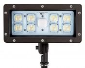 70 Watt Knuckle-Mount LED Flood Light - 6,800 Lumens: Front View