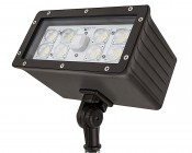 70 Watt Knuckle-Mount LED Flood Light - 6,800 Lumens