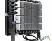 70 Watt High Power LED Flood Light Fixture: Back View