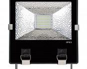 70 Watt High Power LED Flood Light Fixture: Front View