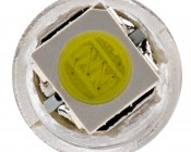 74 LED Bulb - 1 SMD LED - Miniature Wedge Retrofit: Front View