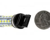 7440 LED Bulb - 28 High Power LED - Wedge Retrofit: Back View