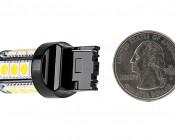 7440 LED Bulb - 18 SMD LED Tower - Wedge Retrofit: Back View