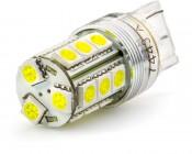 7443 CK LED Bulb - Dual Function 18 SMD LED Tower - Wedge Retrofit