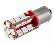 7507 (PY21W) CAN Bus LED Bulb - 30 SMD LED Tower - BAU15S Retrofit