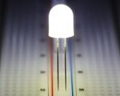 8mm White LED (360 degree)
