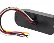 9 Watt Vehicle Mini Strobe Light Head: Back View