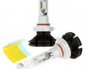 LED Headlight Kit - 9005 LED Fanless Headlight Conversion Kit with Adjustable Color Temperature and Compact Heat Sink