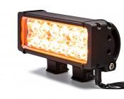 Amber LED Light Bar Turned On