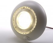 DLWS-BWW10 -  Round Dome Light Fixture with Switch for Night Light Mode