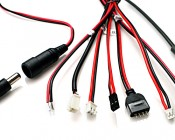 (Adapter cables not included with power supply)