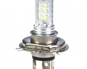 H4 LED Bulb - 12 LED Daytime Running Light