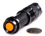 FL-3W-VZ - 3 Watt LED Flashlight with Variable Focus Zoom Lens