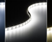 Custom Length LED Light Strips available in Cool, Natural, and Warm White