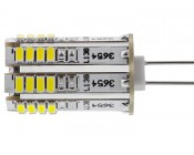 G4 LED Bulb - 36 SMD Bi-Pin LED Tower: Profile View