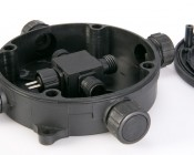 G-LUX series 1 to 3 Waterproof Junction Box - Plug and Play