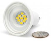 White 4 Watt LED GU10 Bulb