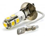 H3 DRL 9-LED bulb