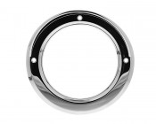 ST series Chrome Bezel with Hood: Front View