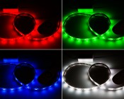 LDRF-RGB6-TC4 - Shown in Red, Green, Blue, and White modes