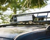 ORB-72W24-35 - 72W Off Road LED Light Bar on Jeep