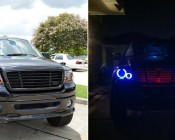 Customer's Truck with some Angel Eyes isntalled