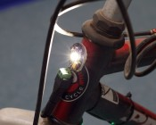 G4-CW1W-DAC attached to bike frame. Powered by our Battery Power Supply and connected with a CPS-F2ST.