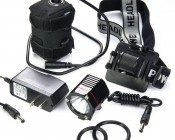 SG-N1000 - Bicycle Headlight with included accessories