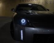Flexible Light Strips with Side Emitting LEDs on Customer Vehicle