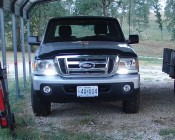 Customer photo of LED DRLs on their truck - Thanks Edgar P.