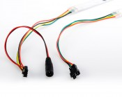 SEDC-RGB160 Wiring  <BR> The second strip in succession requires additional power (5V) via the CPS input provided.