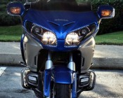 Headlight accent on 2012 GoldWing