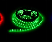 NFLS-SS-x300 NFLS-SS-x300 High Power LED Super Slim Flexible Light Strip illuminated in Red, Green, Blue