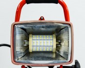 R7S-W8W - 8W R7S LED Floodlight Replacement Lamp installed in portable worklight