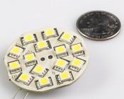 G4-xWHP15-DAC - White LED G4 Lamp