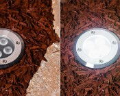 G-LUX series 8 Watt LED Up Light available in Cool White