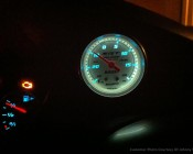 Our NEO bulbs in a Dodge SRT-4 boost gauge.